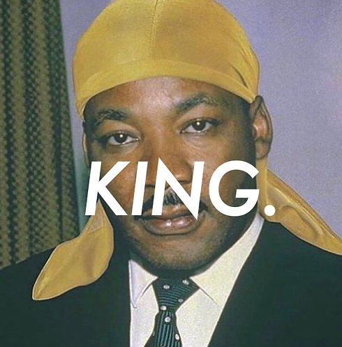 """""""KING"""" Sticker. 50x50mm"""