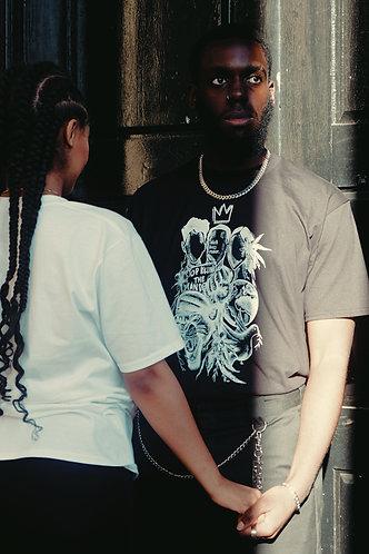Unisex 'Stop Killing the Mandem' T-Shirt (BLACK)