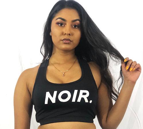 """NOIR"" Crop Top (AW18)"
