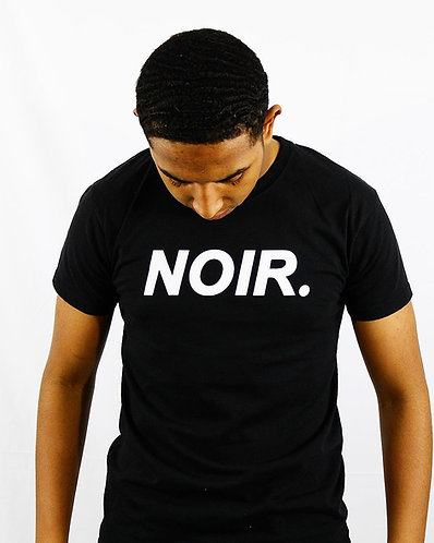 "Men's Black ""NOIR"" T-Shirt"