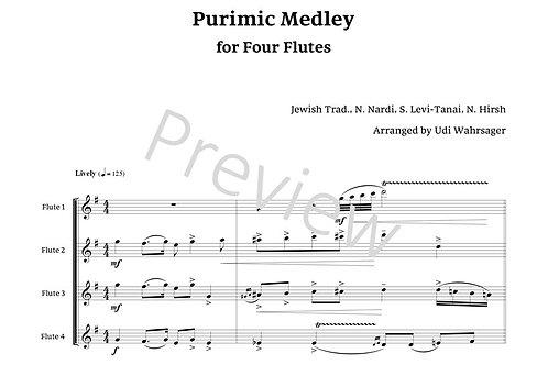 Purimic Medley - Flute Quartet