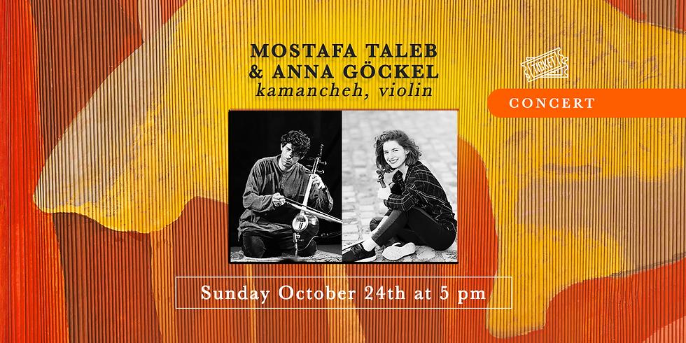 24 Octobre à 17h : Mostafa Taleb et Anna Göckel // SOLDOUT