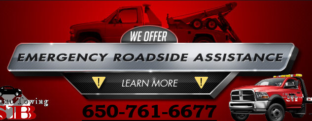 san bruno towing, road side assistance,