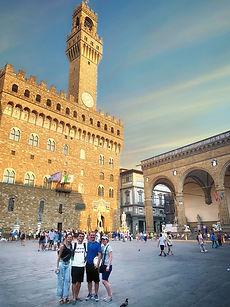 Tour a pie por el centro de la ciudad de Florencia