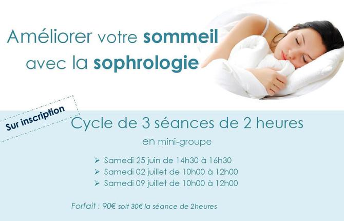 Améliorer votre sommeil avec la sophrologie !
