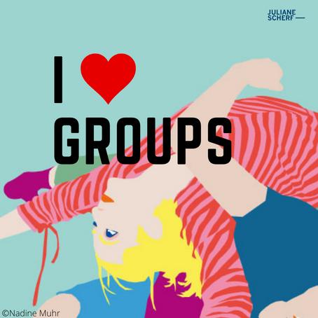 Ich vermisse meine Gruppen, live und in Farbe...