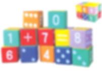 Bloques de Espuma Matematica SoftPlay Chile