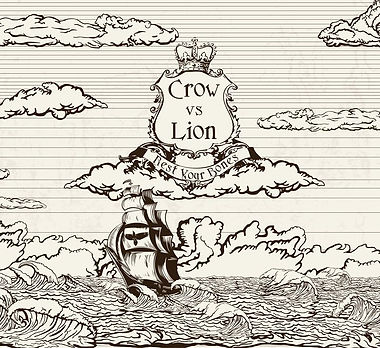 Crow vs Lion album _Rest Your Bones_ cov