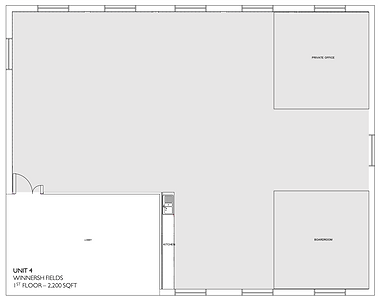 Unit 4 Winnersh Fields Exisitng Floor Pl