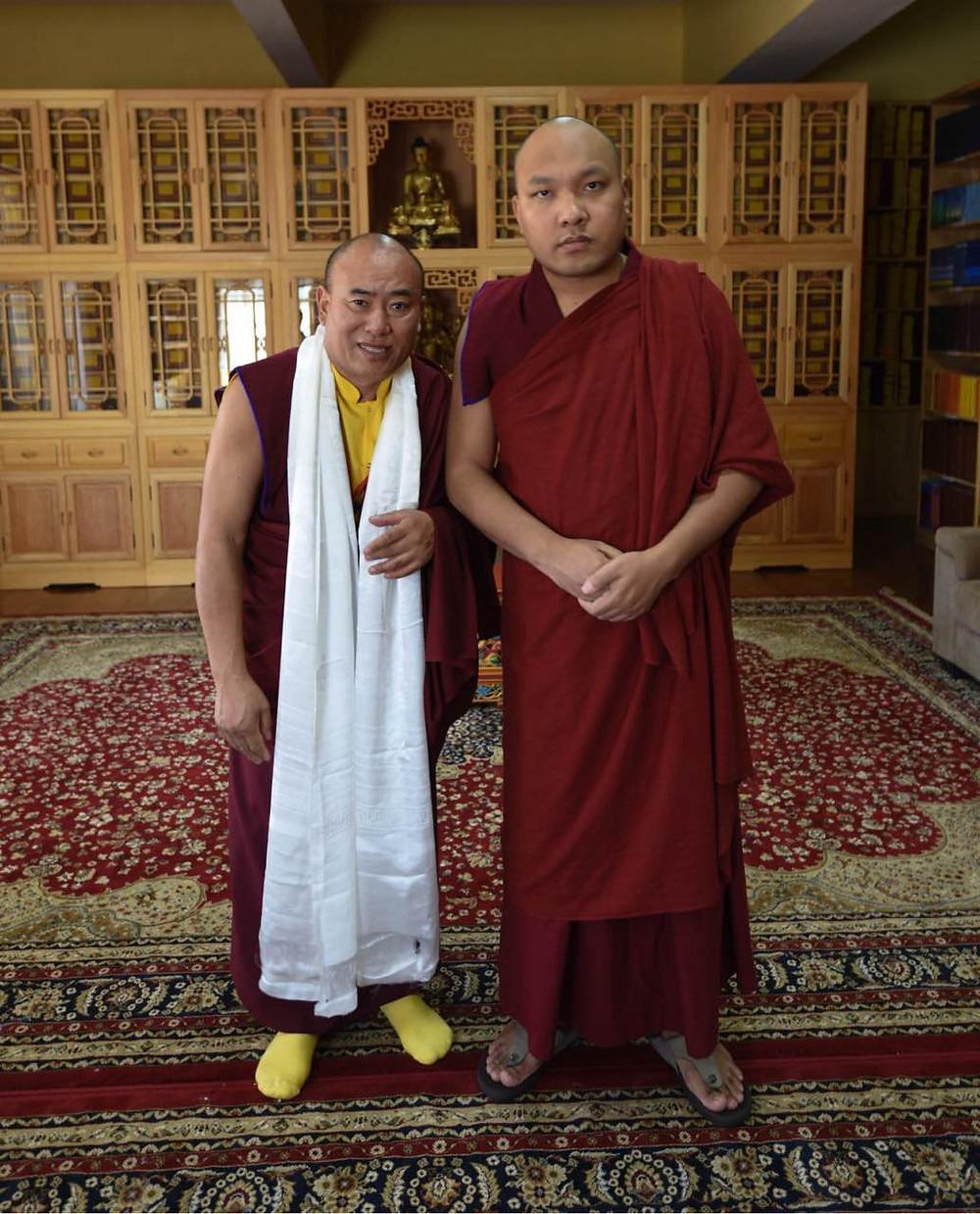 His Holiness Karmapa 17th & Lama Dawa (Our Guru)