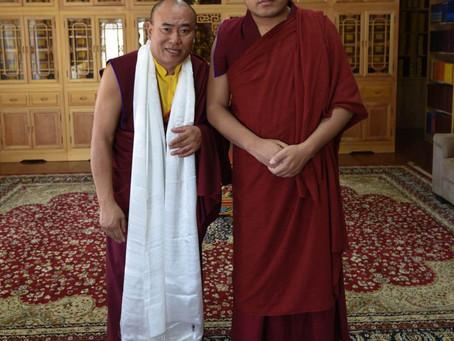 THƯ MỜI Tham dự Lễ Ngondro Nghi Thức Thực Hành Căn Bán Hàng Ngày Theo Phật Pháp Quý Báu của Đức Đạ