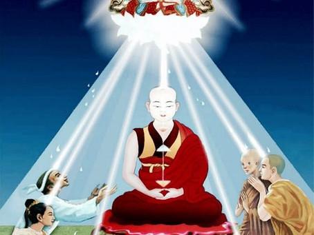 THƯ MỜI Đặc Biệt Quý Hiếm Dự Buổi Lễ Quán Dảnh & Gia Trì Đức Kim Cang Tát Đỏa & HỒNG DANH 35
