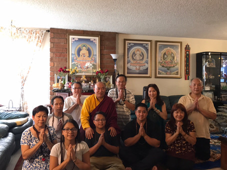 Invitation to Dharma Teach & White Tara Prayers with Tibetan Lama Dawa starting Saturday 4 Novem