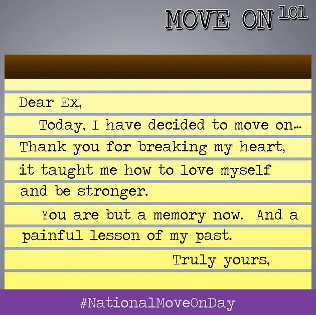 A LETTER TO EX | move-on-101