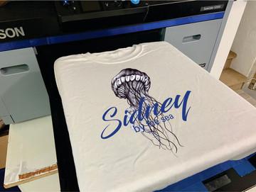 Direct To Garment printing.