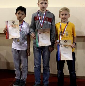 Андрей - серебряный призер в рапиде!