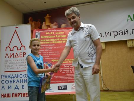 Андрей завершил турнир в Воронеже на 10-м месте!