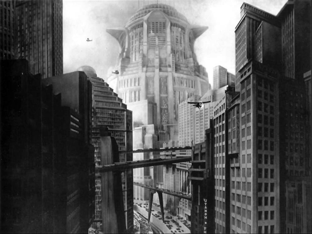 """Fotograma de la película """"Metrópolis"""" de Fritz Lang"""