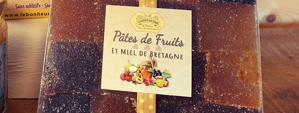 Pâtes de fruits au Miel de Bretagne