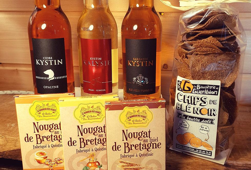Coffret Cidres et Gourmandises