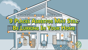 9 Places Asbestos May Still Be Lurking in Your Home.