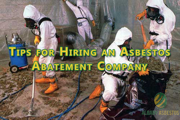 Tips for Hiring an Asbestos Abatement Company.