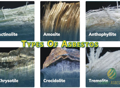 Types of Asbestos.