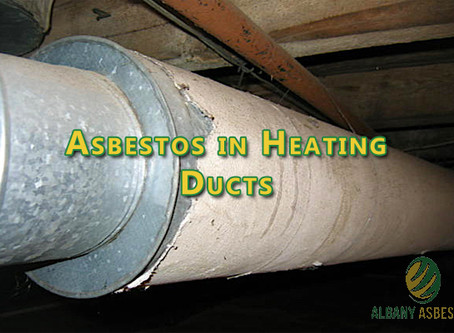 Asbestos in Heating Ducts.