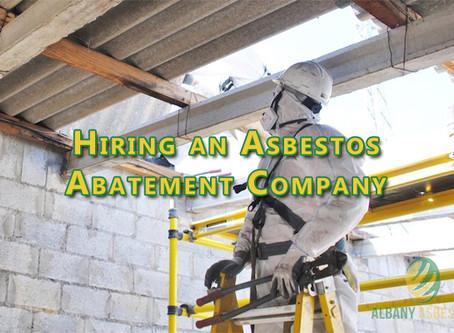 Hiring an Asbestos Abatement Company.