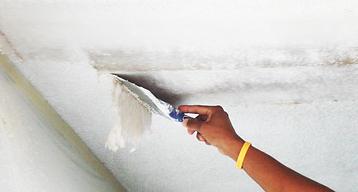 Asbestos ceiling environmental testing.p