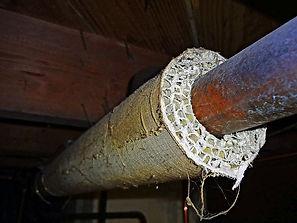 Asbestos pipe testing albany sampling.jp