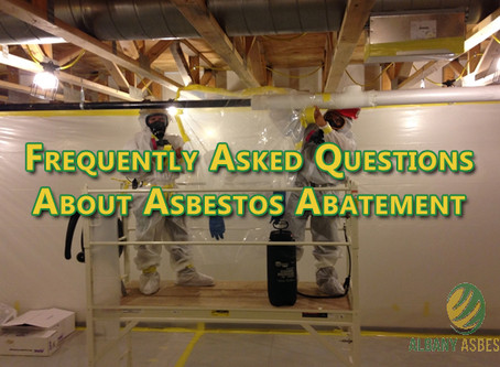Frequently Asked Questions About Asbestos Abatement.