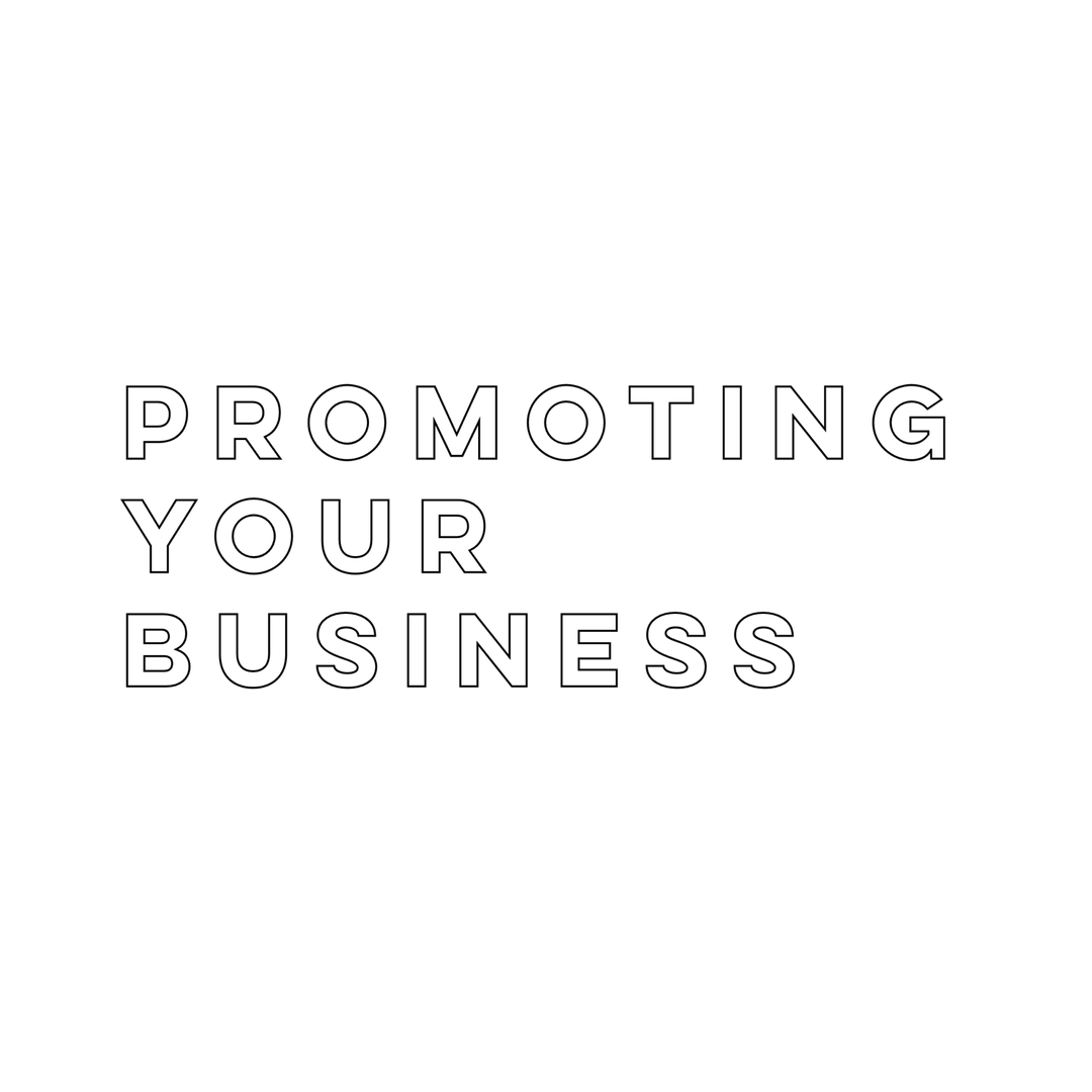 PROMOTING YOUR BUSINESS