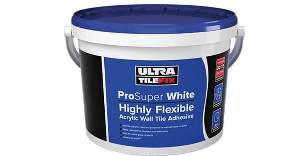 15kg READY-MIXED SUPER WHITE TILE FIX ADHESIVE
