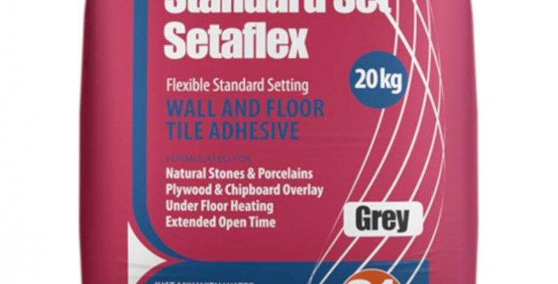 20kg GREY STANDARD-SET SETAFLEX TILE ADHESIVE