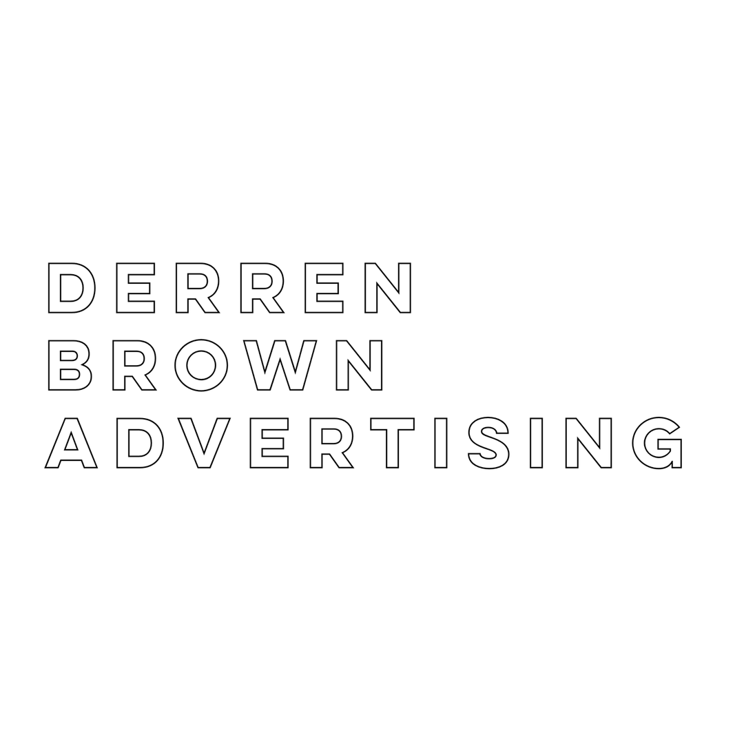 DERREN BROWN ADVERTISING