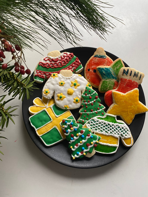 HOLIDAY COOKIE WORKSHOP | on demand