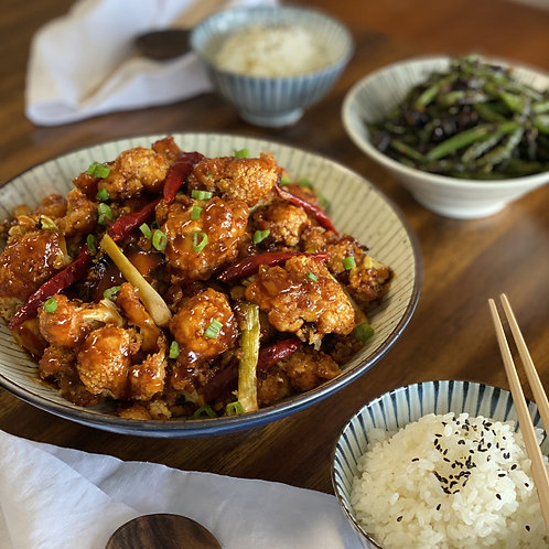 GENERAL TSO'S CAULIFLOWER (VEGETARIAN) WITH AIR FRYER | Sunday 3/21 at 12 pm EST