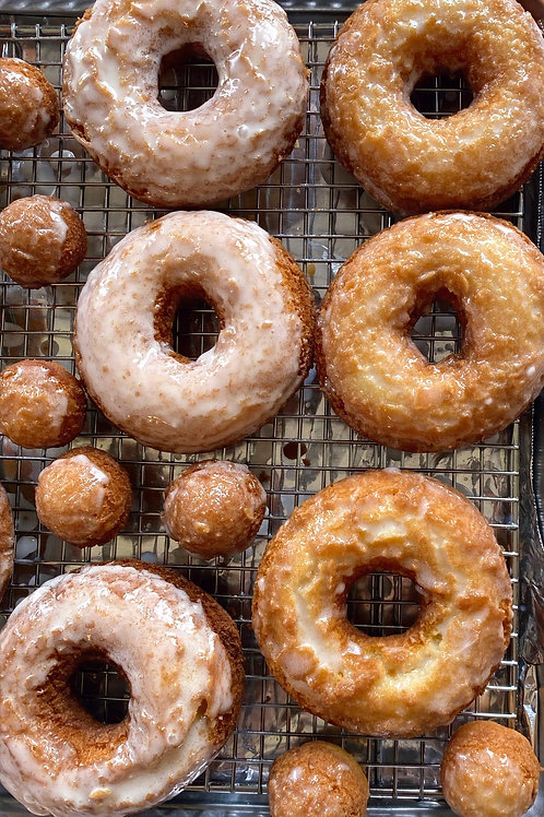 OLD FASHIONED DONUTS + DALGONA COFFEE | on demand