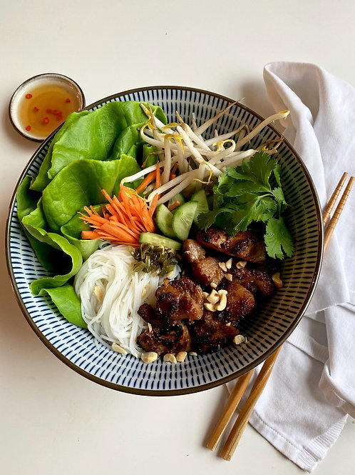 VERMICELLI with LEMONGRASS GRILLED MEAT | on demand