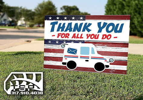 Thank You Yard Signs
