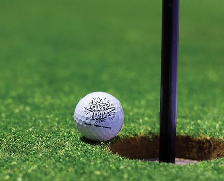 (12) Customized Golf Balls