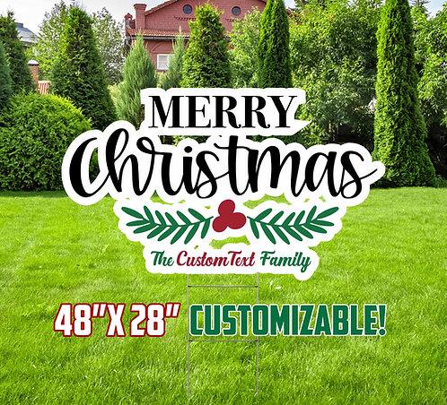 Christmas Themed Yard Decor