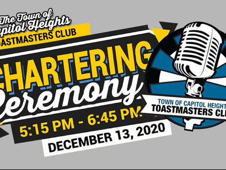 New Toastmasters Club in Capitol Heights