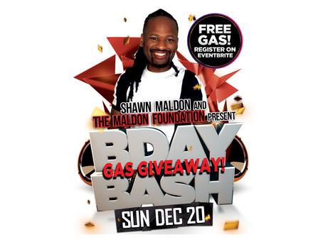 Birthday Bash GAS GIVEAWAY!
