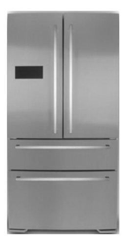 Double Door refrigerator / freezer freestanding - SBS900
