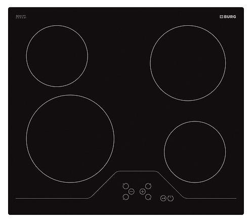 Electric hob SCHOTT Ceran with touch controls - EBU3008