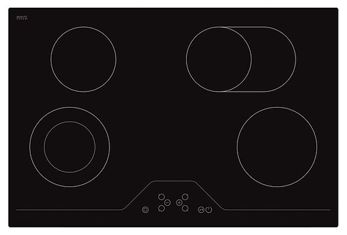 Electric hob SCHOTT Ceran with touch controls - EBU3011