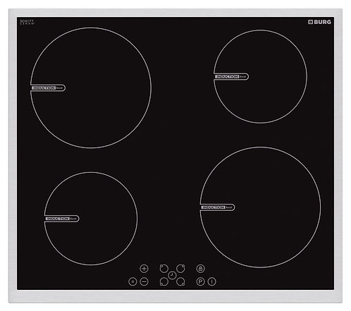 Induction hob SCHOTT Ceran with touch controls and steel frame - EBU3018