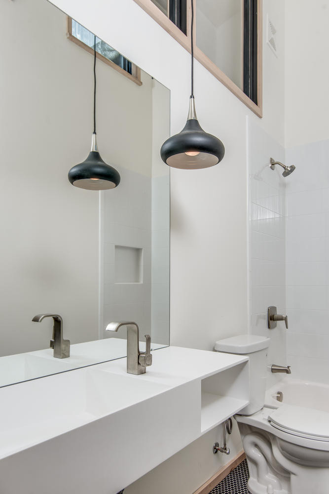 Dramatic Hall Bath